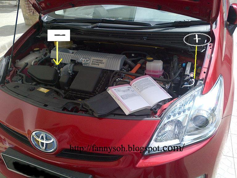 How To Jumpstart A Prius >> Green Energy In Malaysia How To Jump Start Toyota Prius