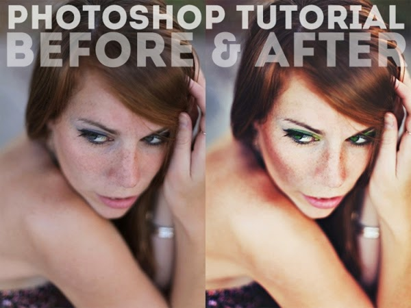 Retouchng Tutorial: Before and After