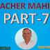TEACHER MAHIMA PART 7