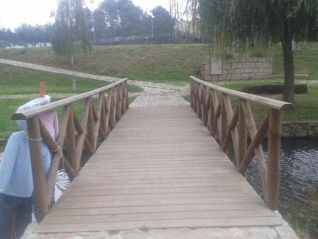 Ponte Pedonal de Madeira