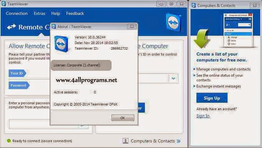 teamviewer 10 license key generator