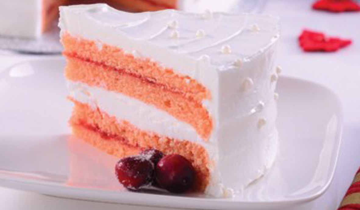 Resep Cranberries Layer Cake
