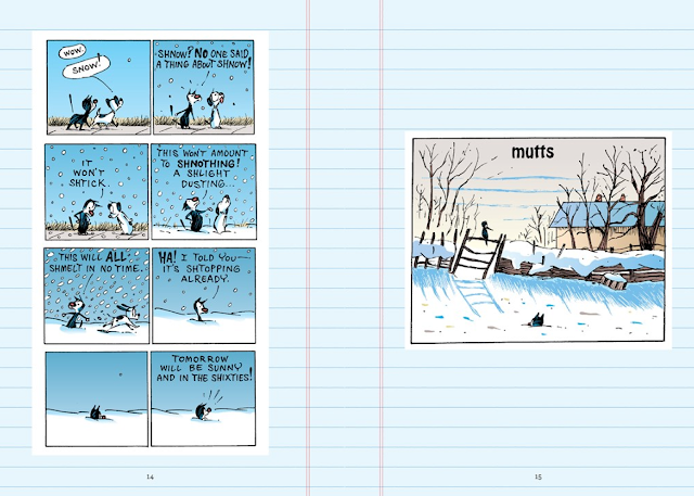inside the Mutts Winter diaries, sneak peek #2