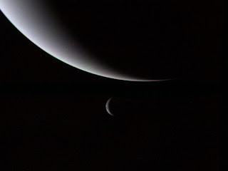 Neptune, and its moon Triton