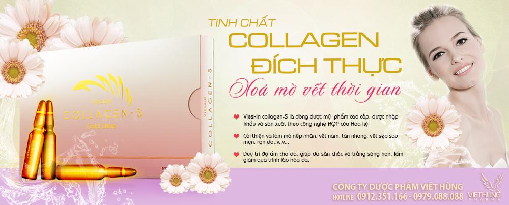Tinh chất Collagen đích thực - Vieskin Collagen S