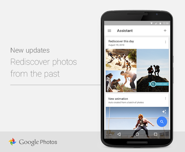 "Google Photos shows you photos and videos from the past with the ""Rediscover this day"" feature"