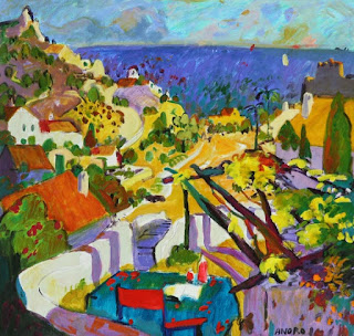 Manel Anoro, painter, Mallorca