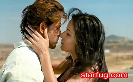 Katrina Kaif kissing Shot