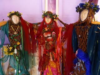 Goddess Temple, Glastonbury, Copyright 2012 Kaliani Devinne