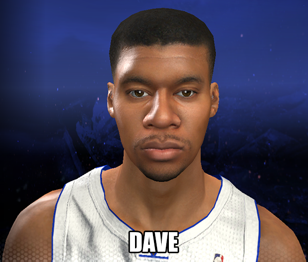 NBA 2K14 Tony Mitchell Face Mod