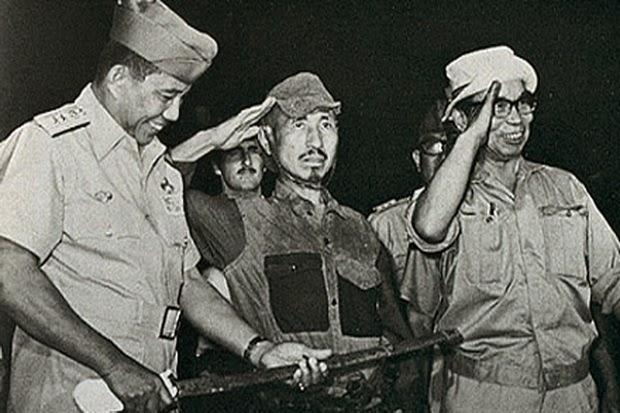 Nakamura saat ditangkap tentara TNI AU