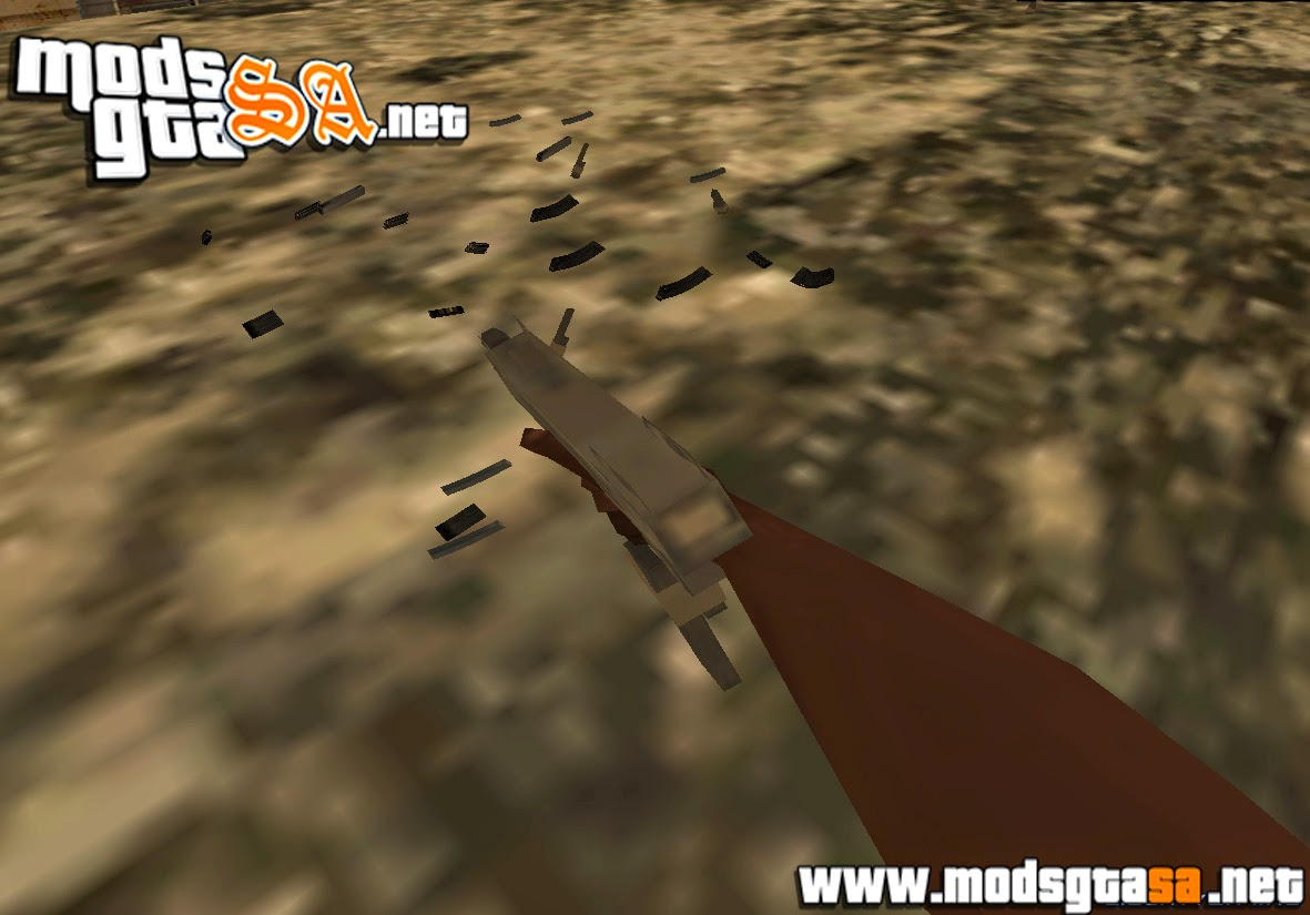 SA - Physical Clips Mod v0.5 (Recarregar Armas)
