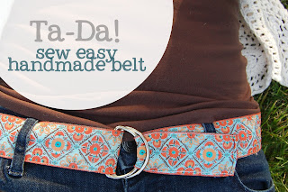 Easy Ribbon Belt tutorial!