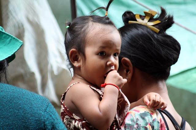 Bébé khmer du jour