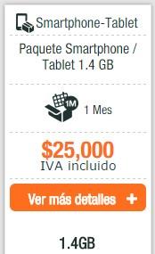 Planes de datos e internet móvil uff en Colombia