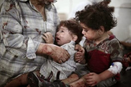Graphic pics: ISIS behead Christian children + Horrific pics of ISIS atrocities
