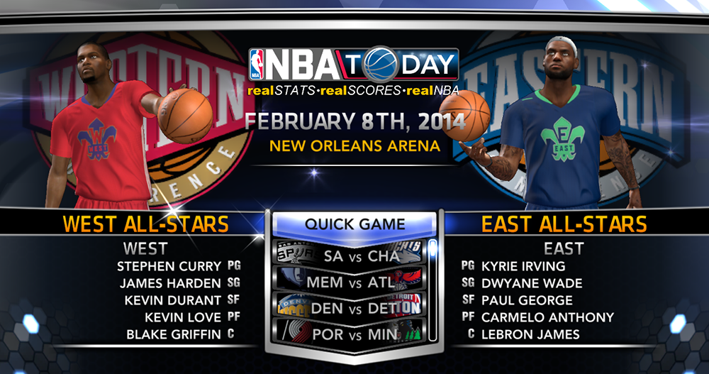 Play All-Star Game 2014 NBA 2K14 PC