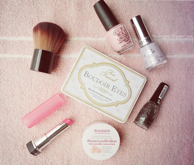 OPI, Revlon lip butter review, maccosmetics brush