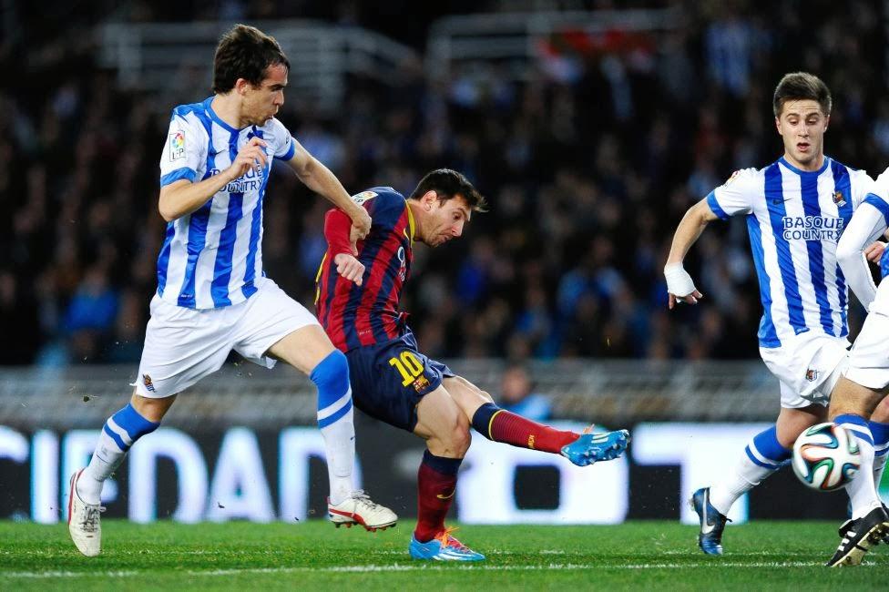 Spanish Cup semi final 2014