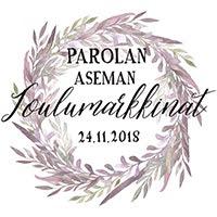 Parolan aseman Joulumarkkinat 24.11.2018
