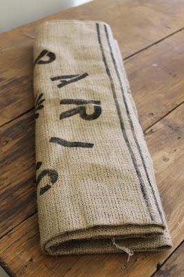 Originales cortinas con tela de saco para decorar tu for Cortinas de tela de saco