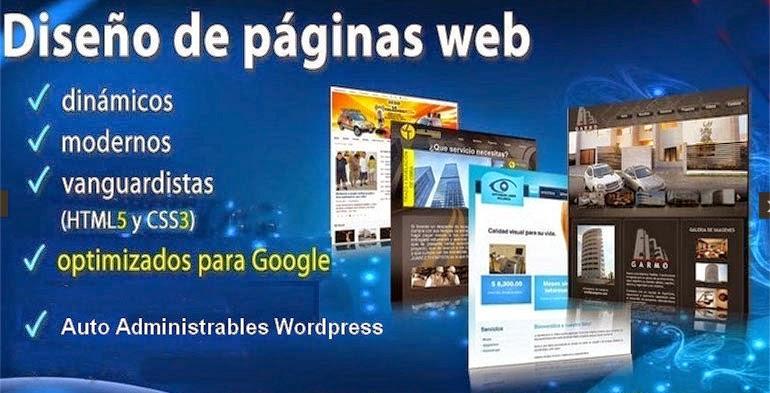 PAGINAS WEB CONTACTENOS
