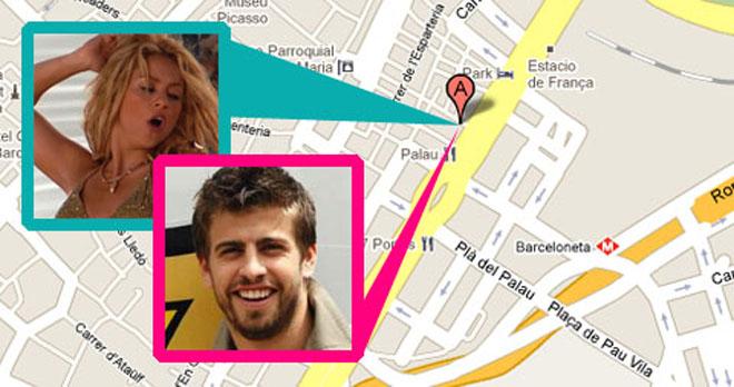 shakira y pique juntos fotos. Shakira+y+pique+juntos