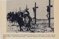Armenian Catholics crucified by Turkish muslims