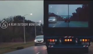 Samsung Safety Truck: Με οθόνη στην πίσω πλευρά για ασφαλή προσπέραση