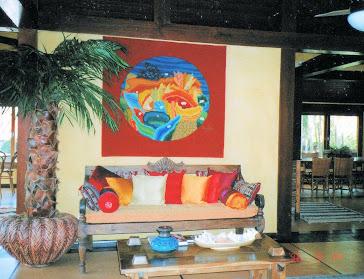 Private collection, Iporanga beach, SP. Interior Design: Vera de Oliveira Mussolini.