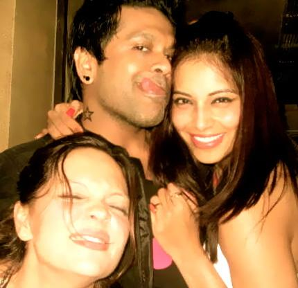 Bipasha Basu with Rocky S1 - Bipasha Basu Private Pics from Twitter