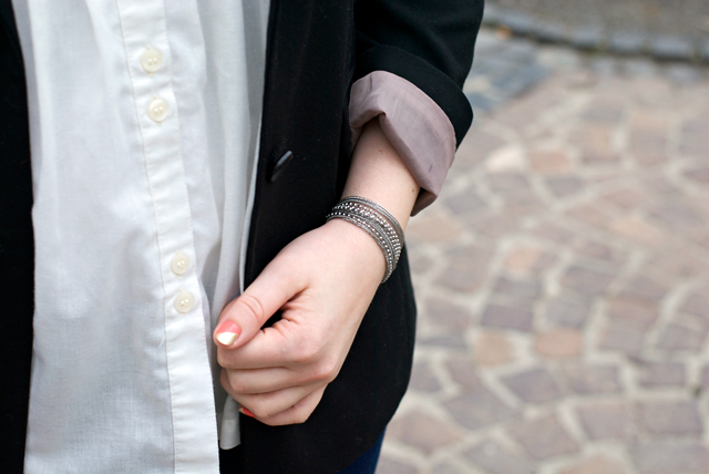 multichain bracelet ootd