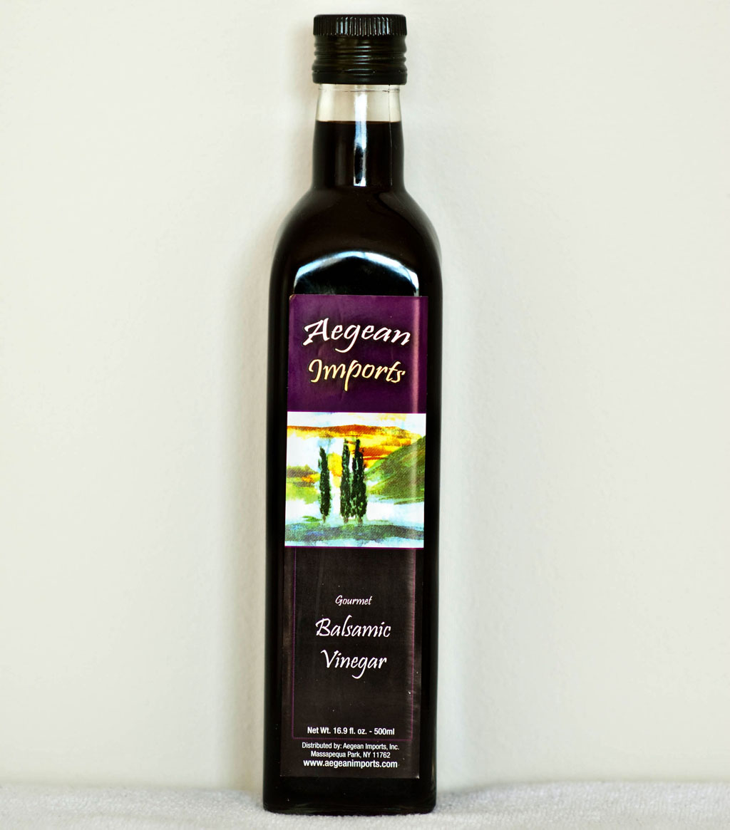 You may just associate balsamic vinegar with salads or salad ...