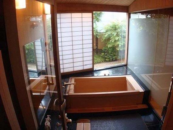 Japanese bathroom design ideas design interieur france for Japanese style bathroom ideas
