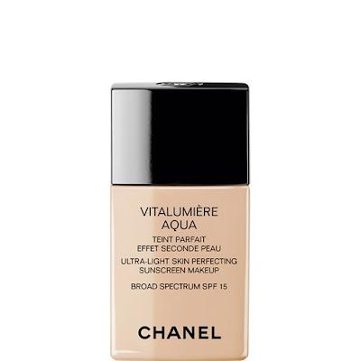 Chanel, Chanel Vitalumiere Aqua Ultra-Light Skin Perfecting Sunscreen Makeup, foundation, makeup