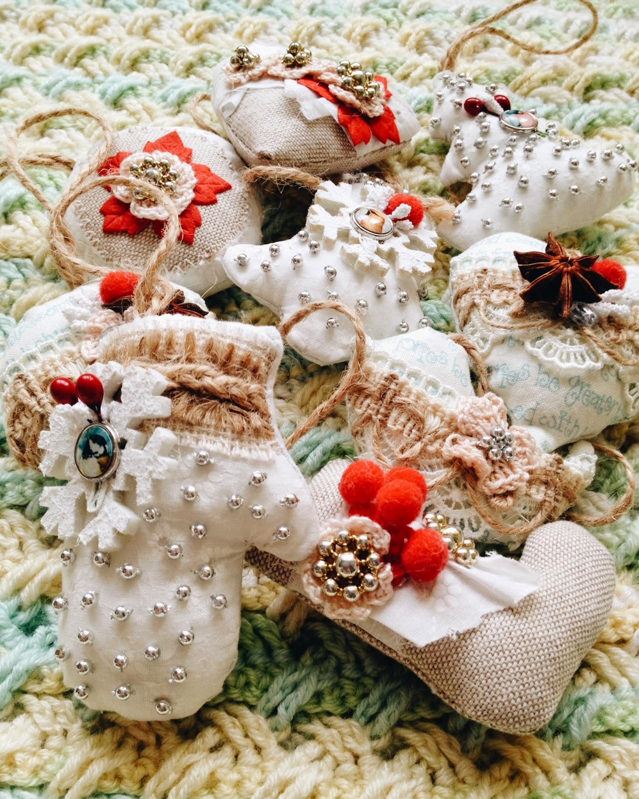 Ручная работа Кокоревой Анны, игрушки, мягкие игрушки, игрушки ручной работы, новогодние игрушки, новогодние игрушки своими руками, новый год, декор на новый год, ёлочные игрушки, новогодние игрушки handmade