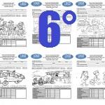 Examen Sexto grado Bloque I Ciclo Escolar 2015-2016