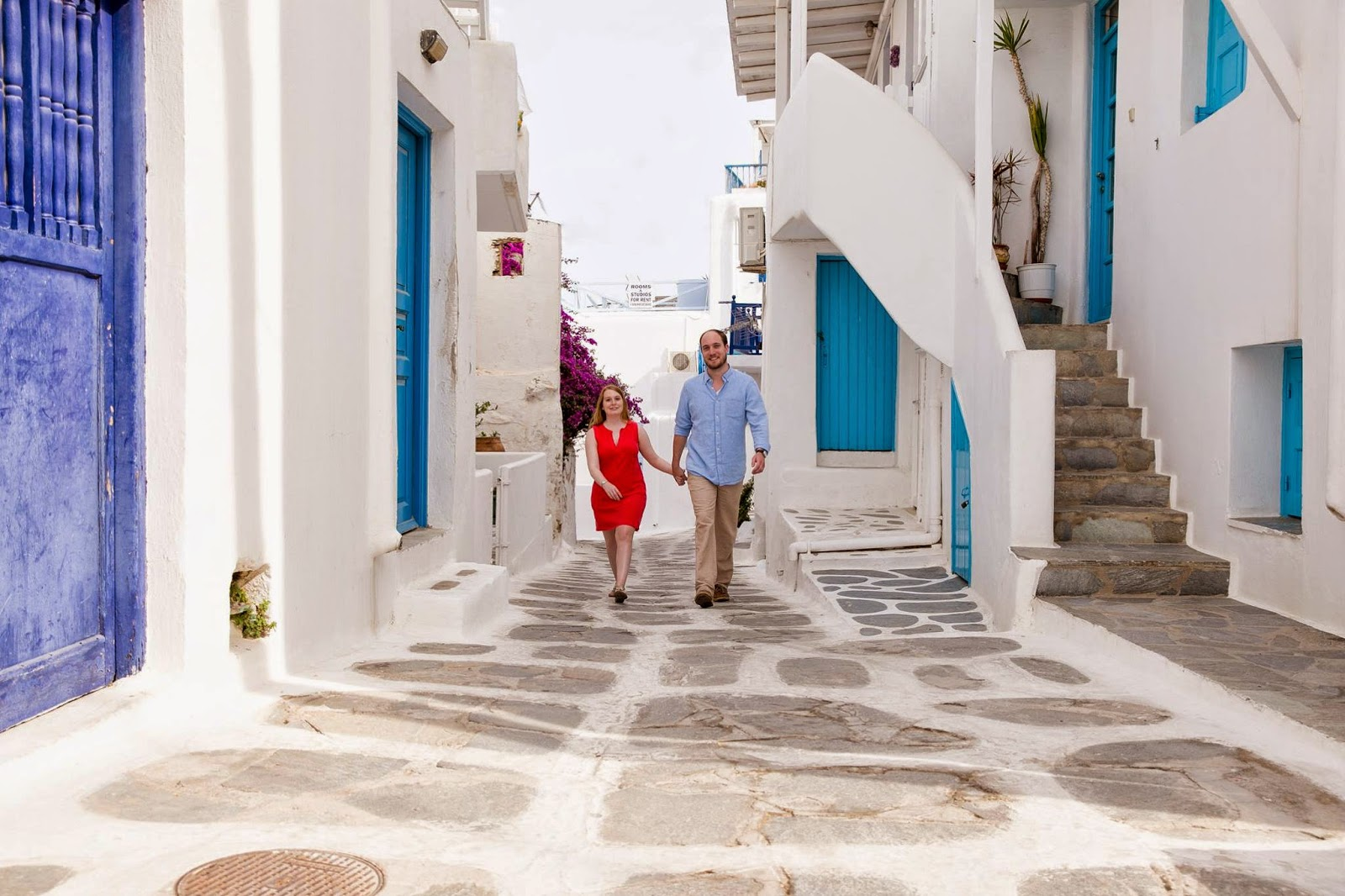 Mykonos Greece honeymoon