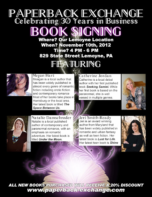 Paperback Exchange Booksigning
