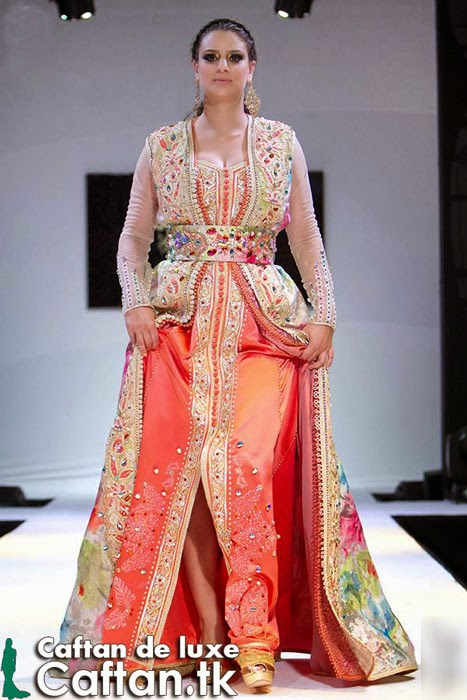 Caftan moderne adorable 2014