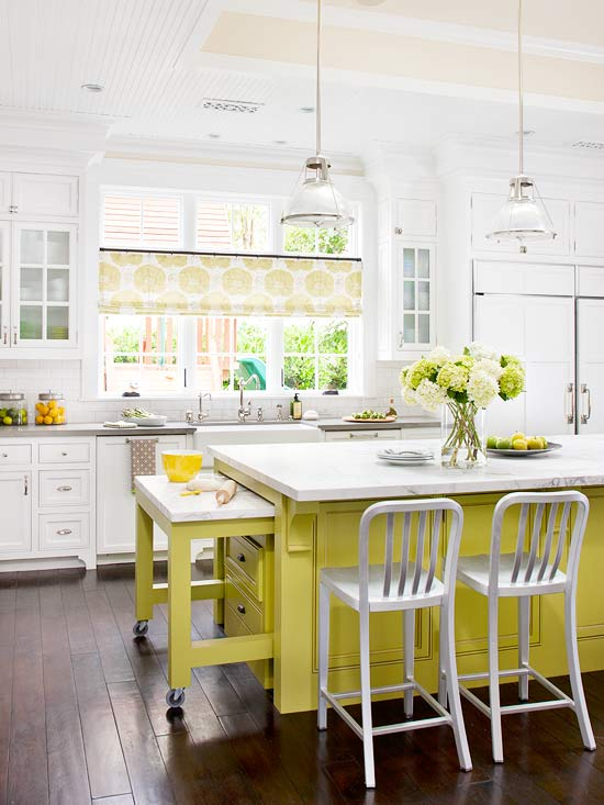 colorful kitchen islands home appliance