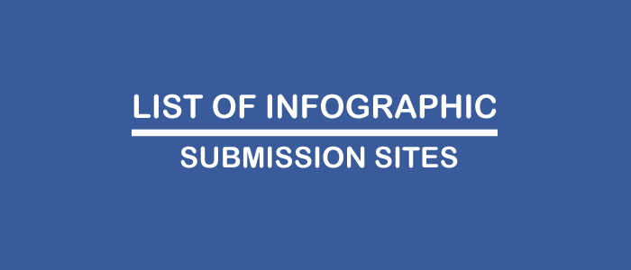 Infographic Submission Websites List ~ Digital Marketing
