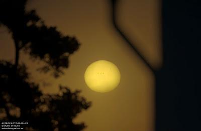MANCHA SOLAR 1654, 16 DE ENERO 2013