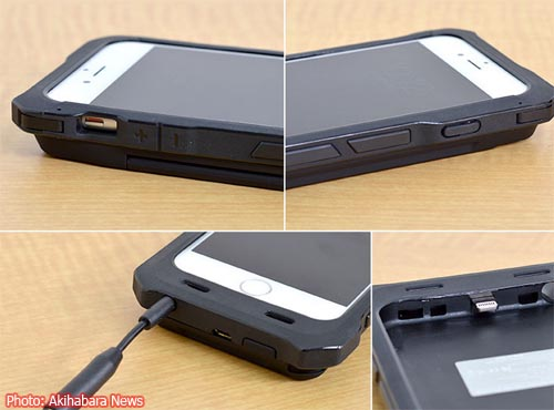 Solar-Powered iPhone 6 Battery Case