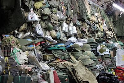 Marché excédent Guerre du Vietnam Dan Sinh