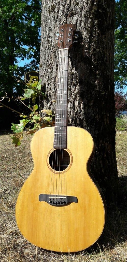 Ma guitare est terminée !!!