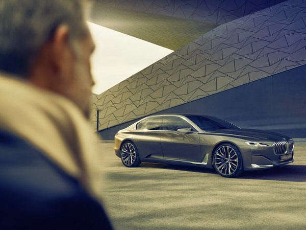 BMW 9 Series Previewed in Vision Future Luxury Concept
