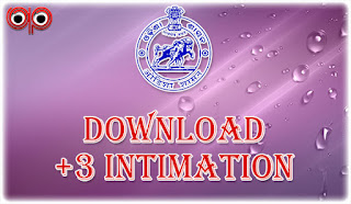 DHE - How To Check Your +3 (Degree) e-Admission Status & Download Intimation Letter