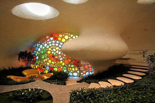 This Is Unique Architectural Home Design With Snail Shaped Home