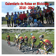 CALENDARIO DE RUTAS EN BICICLETA 2016-2017